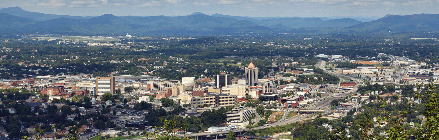 roanoke region of virginia