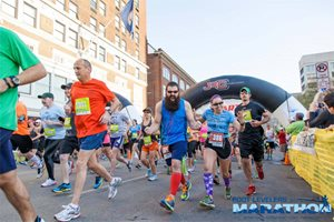 Blue Ridge Marathon runners
