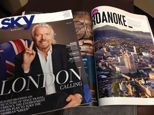 Roanoke Featured in Delta Sky Magazine