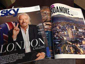 Roanoke Featured in Delta Sky Magazine