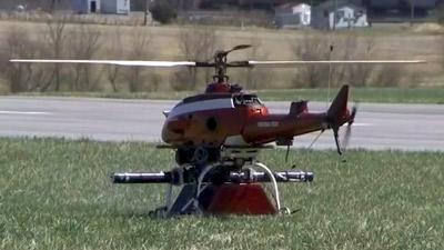 virginia tech roanoke drone