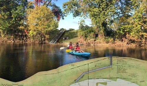 kayak launch roanoke