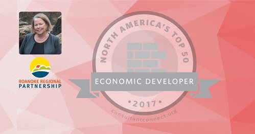 top economic developer roanoke