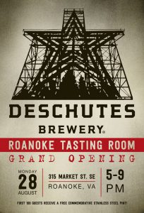 deschutes brewery opening roanoke