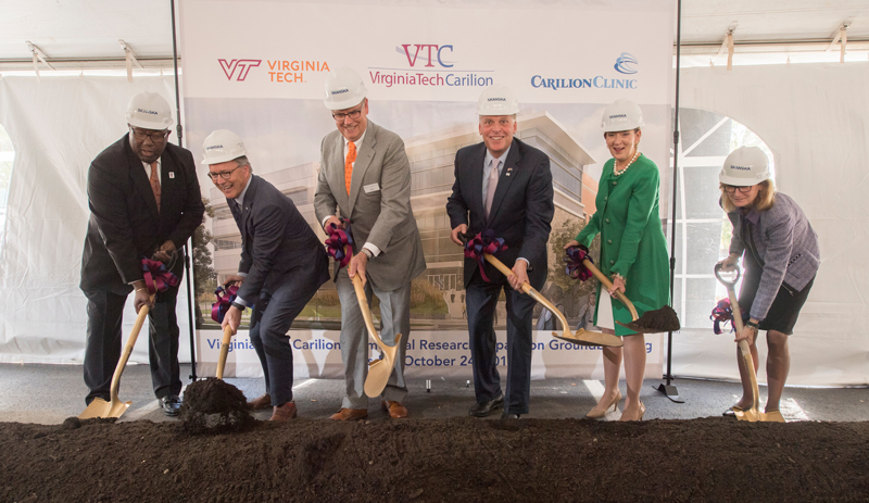virginia tech carilion biomedical expansion