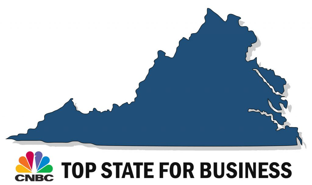 virginia top state for business