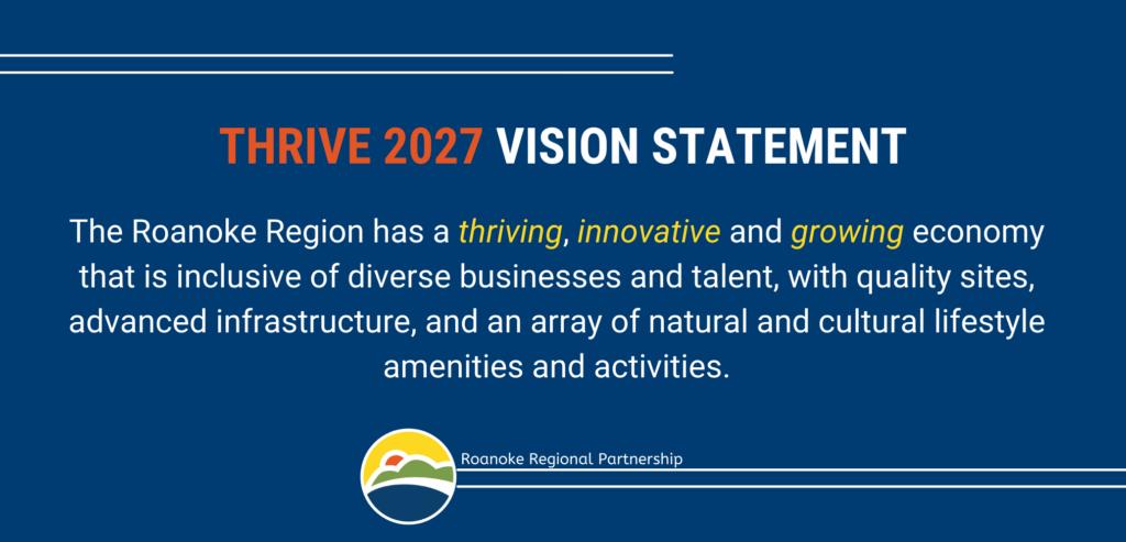 Thrive 2027 Vision Statement